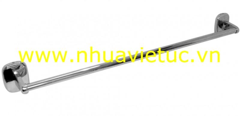 Vắt khăn tròn nhựa mạ, ống Inox mạ Cr-Ni - T0010