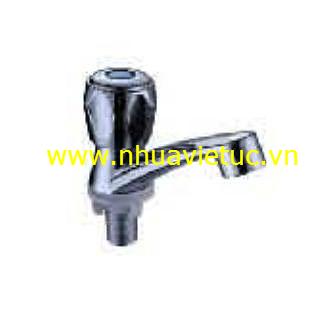 Vòi lavabo đơn nhựa mạ Cr-Ni - T151-B
