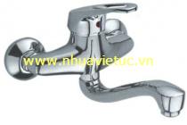 Vòi chậu rửa bát nóng lạnh cắm tường – T-CH164